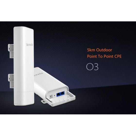 Outdoor long range access point 2.4GHz 150Mbps Tenda O3v2