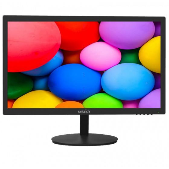 Monitor LED Uniarch 22'' FullHD, 7g H24, 5ms, basso consumo
