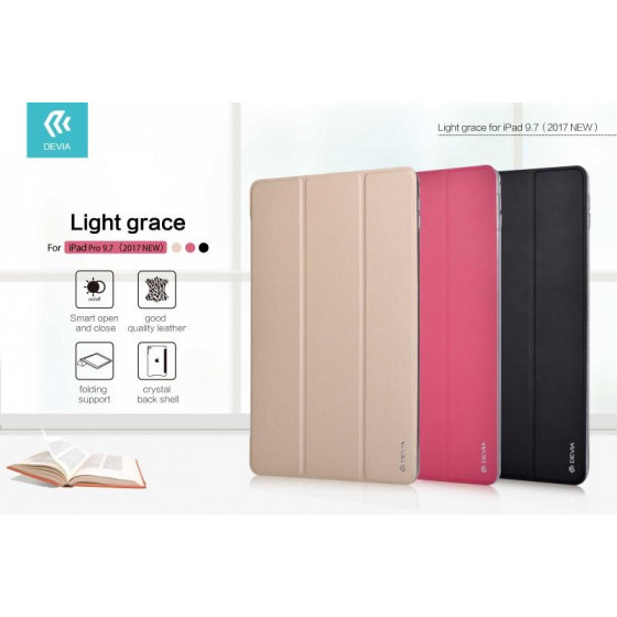 Cover Light grace per iPad Pro 9.7 - 2017 in Pelle C. Gold