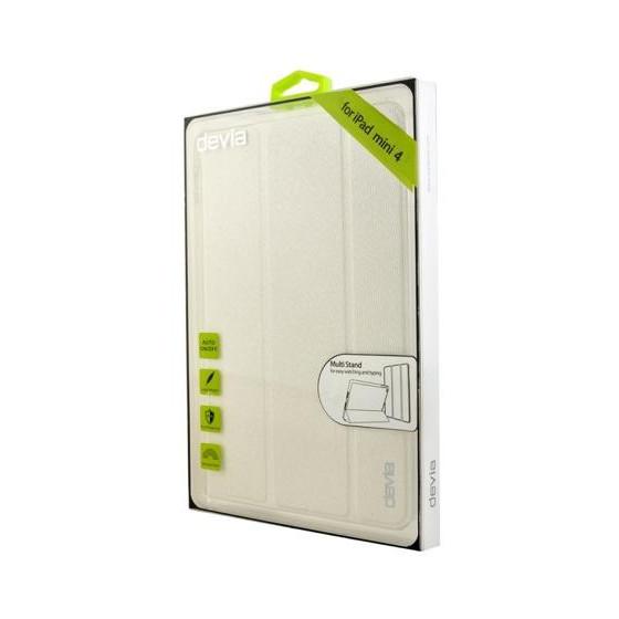 Cover Devia Per iPad Mini 4 con funzione On/Off Bianca