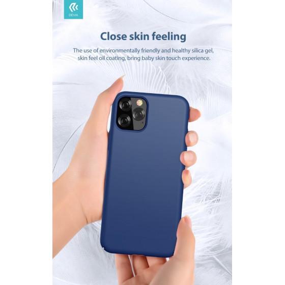 Cover in Silicone e protezione camera per iPhone 11 Pro Nera