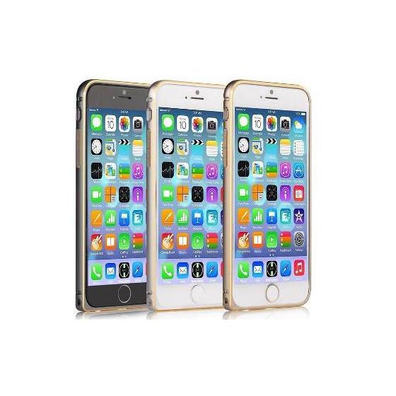 Cover for Iphone 6 Plus -Aluminum bumpe curve  Gun Black
