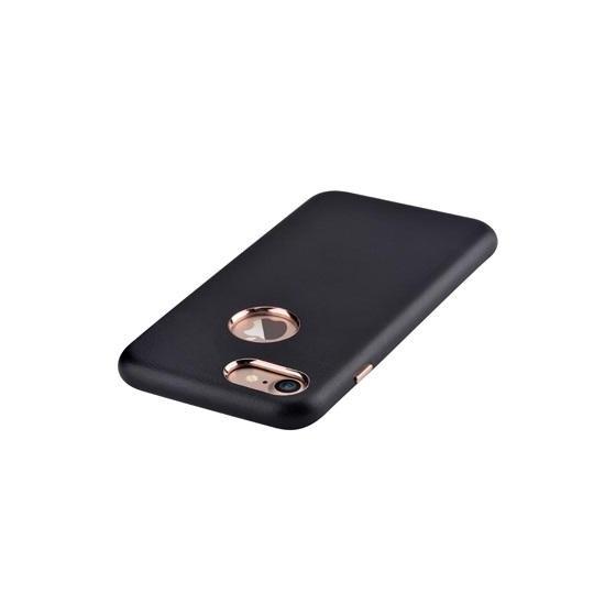 Cover Successor con Vista Logo per iPhone 7 Nera