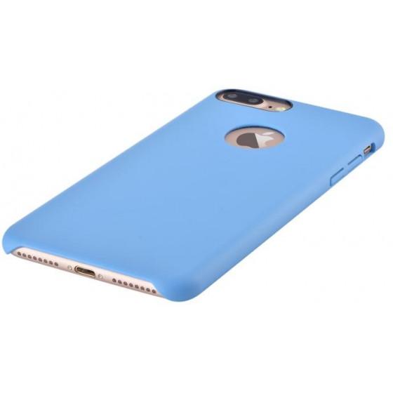 Cover C.E.O Microfibra Per iPhone 7 Plus Con Vista Logo Blu
