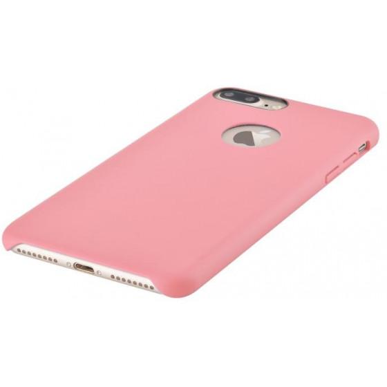 Cover C.E.O Microfibra Per iPhone 7 Plus Con Vista Logo Rosa