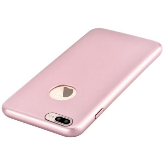 Cover CEO Microfibra Per iPhone 7 Plus Con Vista Logo R.Gold