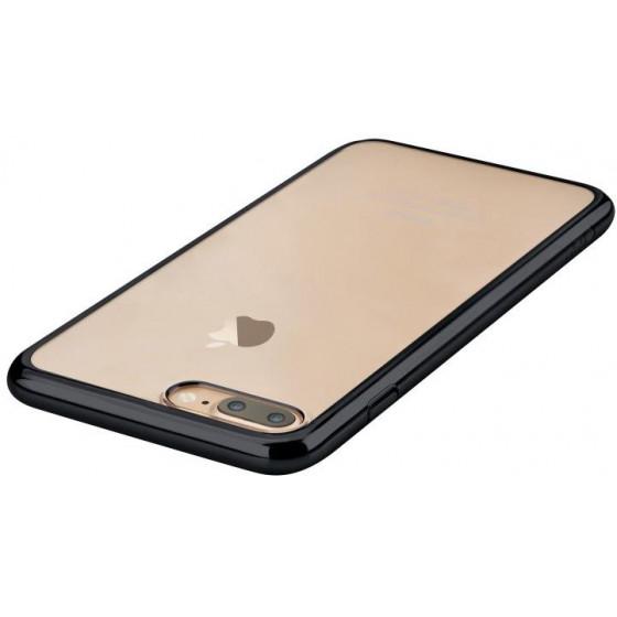 Cover Glimmer con Retro Flessibile per iPhone 7 Plus Nera