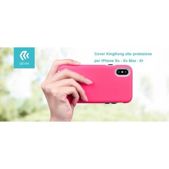 Cover KinKong alta protezione per iPhone Xs Max 6.5 Rosso ch