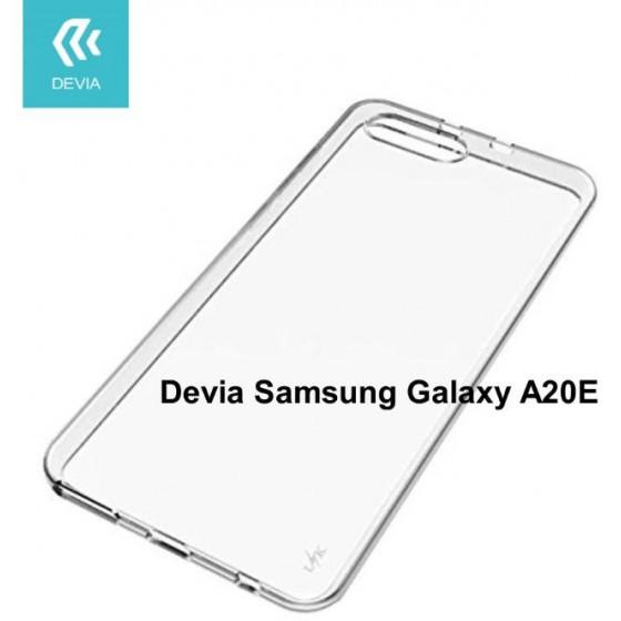 Cover protezione in TPU Trasparente per Samsung A20E