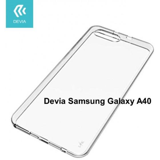 Cover protezione in TPU Trasparente per Samsung A40