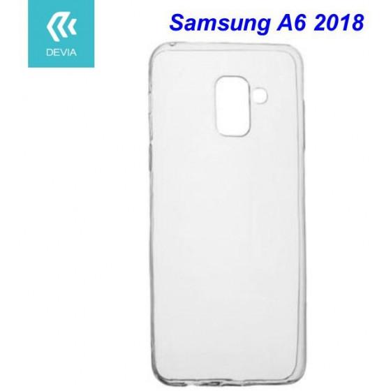 Custodia protettiva morbida per Samsung A6 2018