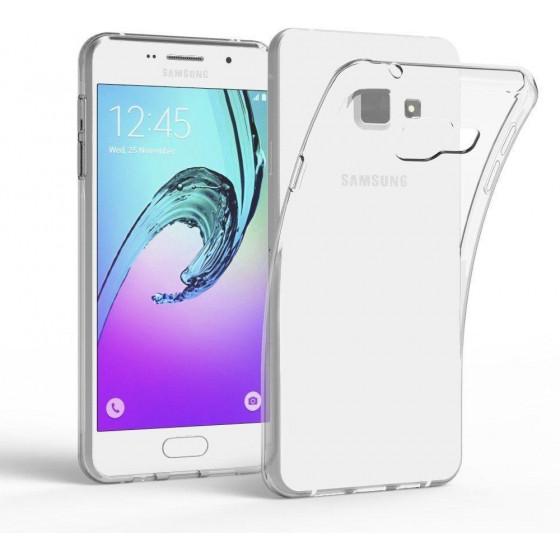 Cover TPU Slim 0.5mm Morbida Per Galaxy A8 2016 Trasparente
