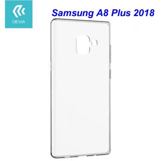 Custodia protettiva morbida per Samsung A8 Plus 2018