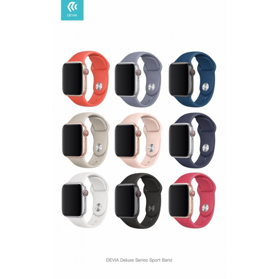 Cinturino Apple Watch 4 serie 40mm Delux Sport Blue Horizon