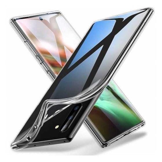 Cover Protezione in TPU Trasparente per Samsung Note 10