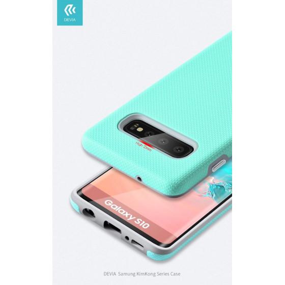 Cover Alta Protezione 360° per Samsung S10 Verde