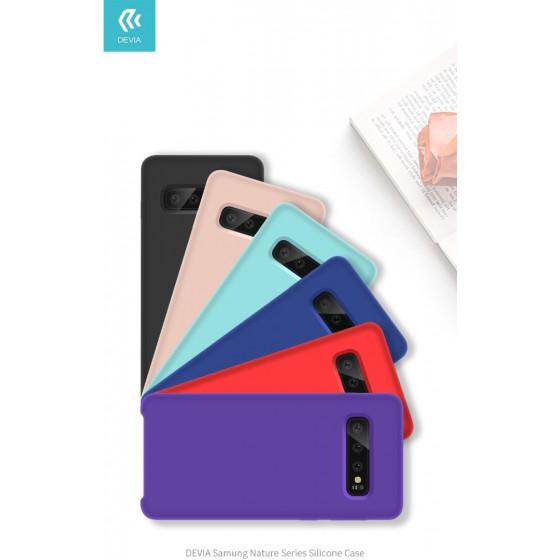 Cover Protezione per Samsung S10 in Silicone Morbido Viola