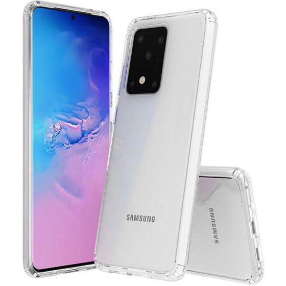 Cover Alta protezione trasparente per Samsung S20
