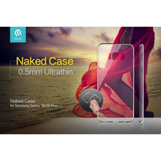 Cover in TPU Morbido Per Samsung S8 Plus Trasparente