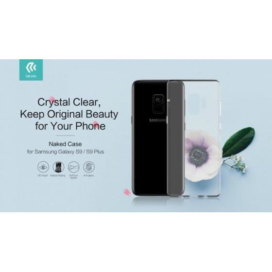 Cover Naked Protezione in TPU Morbido Samsung Galaxy S9 Plus