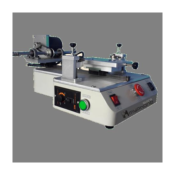 Macchina Separatrice Vetro - LCD Taglio a Filo con Motore