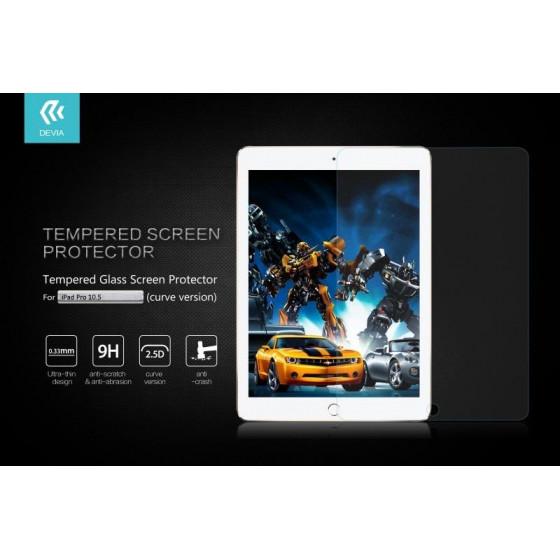 Pellicola in Vetro Temperato 9H Con Curve per iPad Pro 10.5