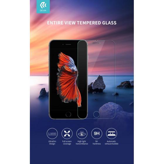 Protezione in vetro temperato per iPhone SE2 inclusa pellic