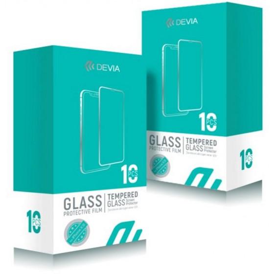 Box 10 Pellicole Vetro Temperato Full Screen per iPhone X Xs