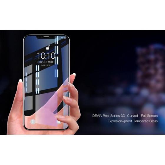 Pellicola vetro temperato Full screen 3D per iPhone Xr 6.1