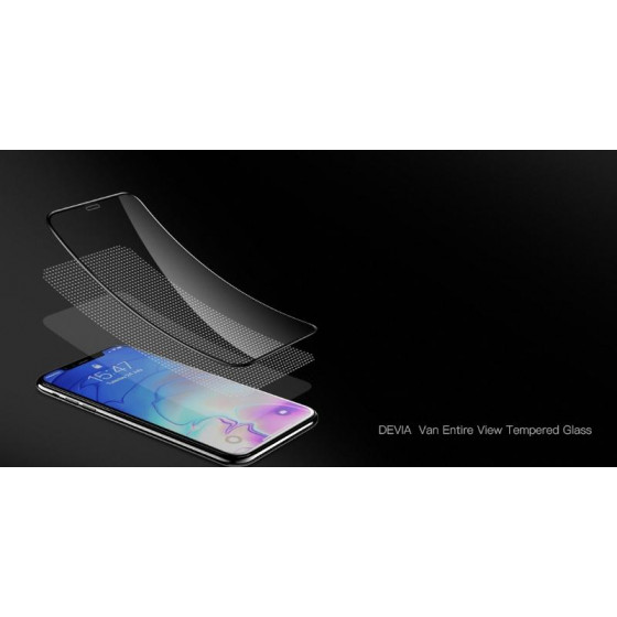 Pellicola in vetro temperato Full screen per iPhone Xs 5.8