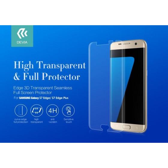 Pellicola protettiva per Samsung Galaxy S7 Edge con Curve