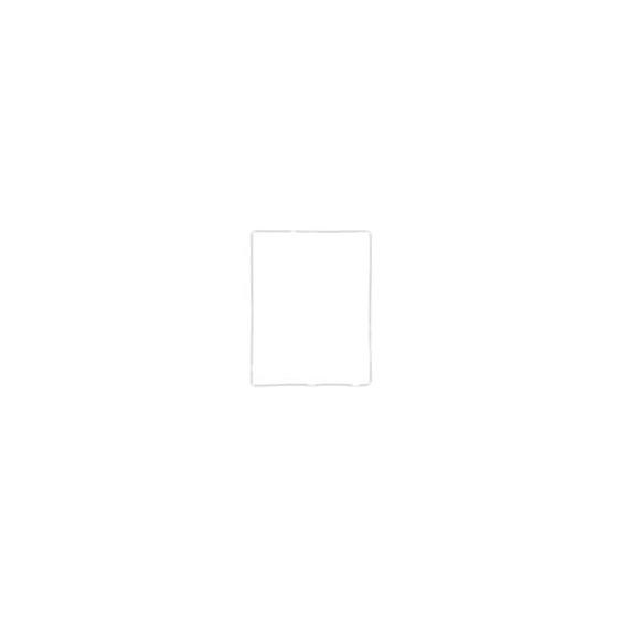 Cornice supporto LCD per iPad 2 Bianco