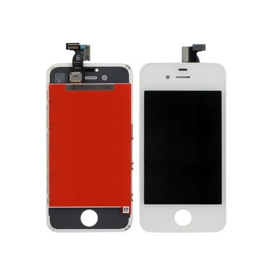 LCD LG Touch+Retina Antipolvere iPhone 4S Bianca AAA+