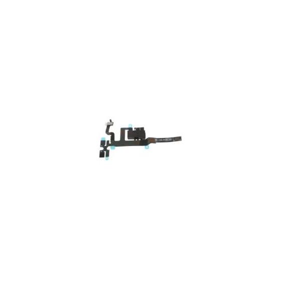 Connettore Audio Jack con cavo flex per iPhone 4S Nero