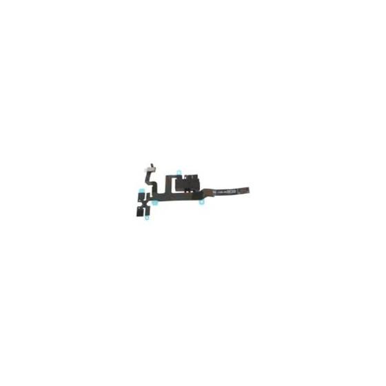 Connettore Audio Jack con cavo flex per iPhone 4S Bianco