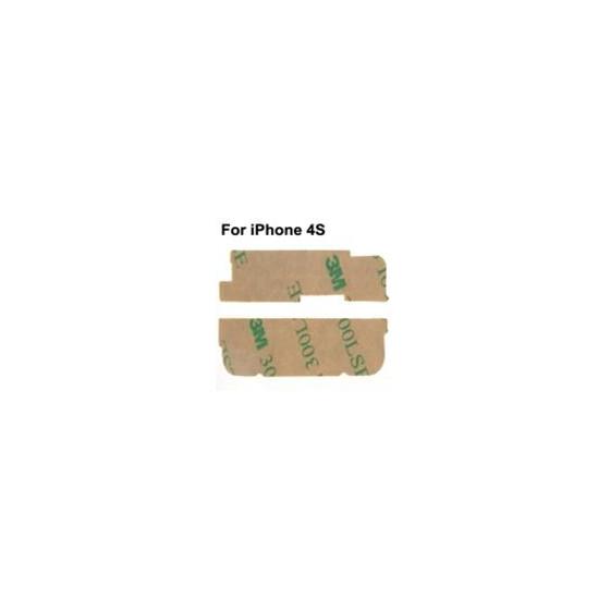Adesivi Superiore e Inferiore Riparazione per iPhone 4S