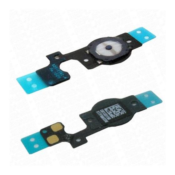 Membrana Pulsante Home con Cavo Flex per iPhone 5C