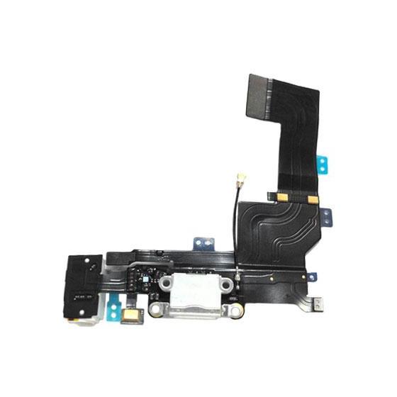 Connettore Dock Carica Originale Audio per iPhone 5S Bianco