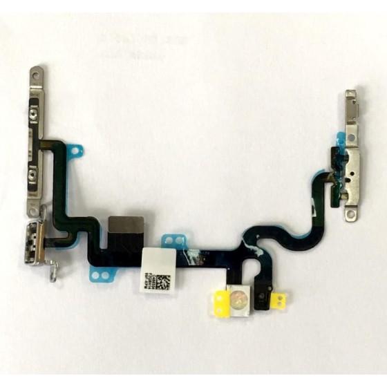 Cavo Flat Power On-off e Volume con Acciaio per iPhone 7