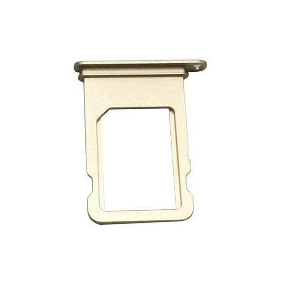 Supporto Sim Slot per iPhone 7 Gold