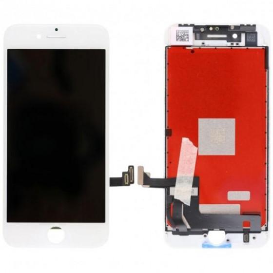 LCD Originale LG o Toshiba AAA+ Per Apple iPhone 8 Bianco