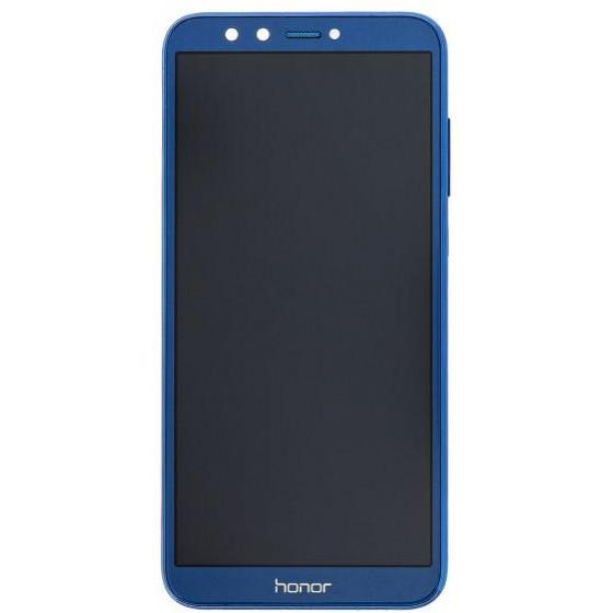 Lcd e Touch con frame Originale per Honor 9 Lite Blu
