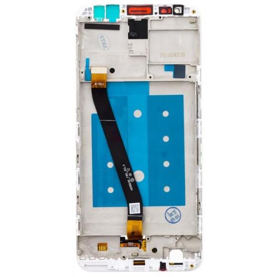 LCD Display + Frame per Huawei Mate 10 Lite White
