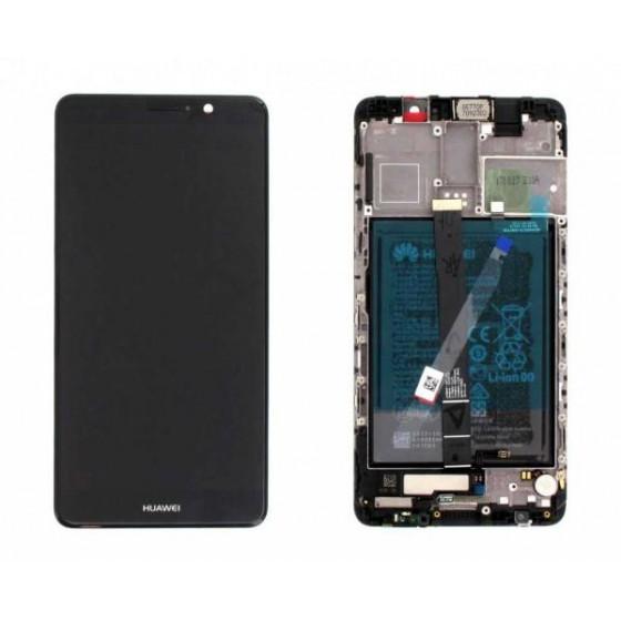 Lcd Frame e Batteria 02351CNU Originale Huawei Mate 9 Nero