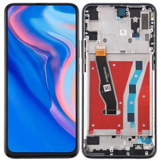 Lcd Huawei P Smart Z con Frame STK-LX1 STK-LX2 Nero