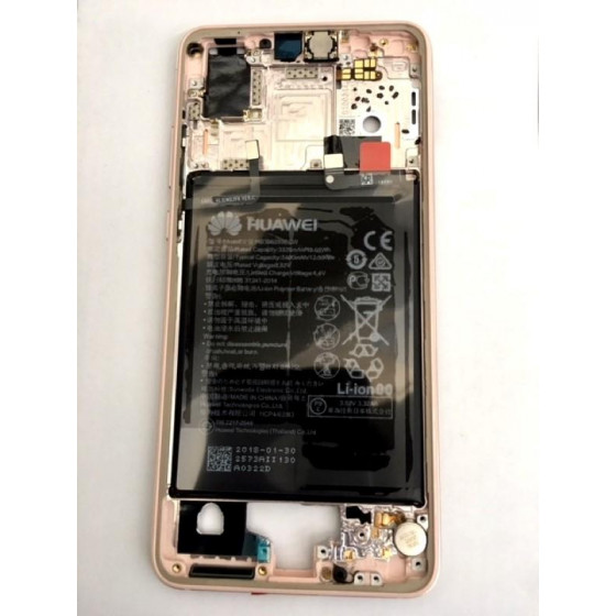 Huawei P20 (Emily) Originale Frame rosa e Batteria 02351WKK
