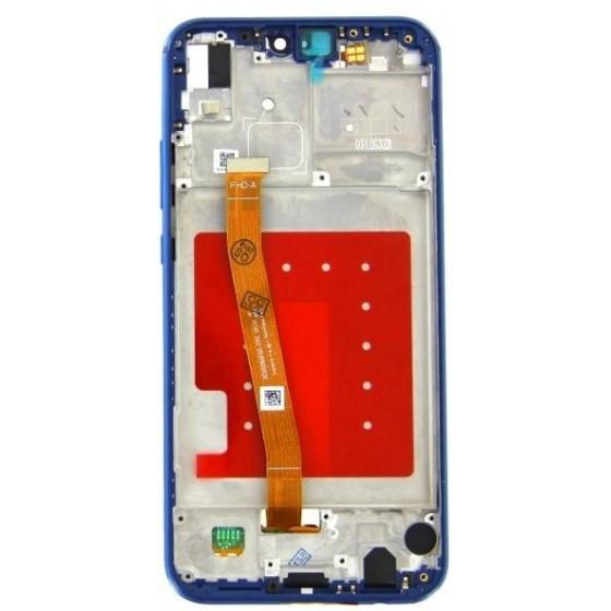 Display Con Frame per Huawei P20 Lite Blu