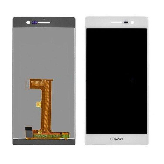 Huawei P7 / P7-L10 lcd Assemblato senza frame Bianco