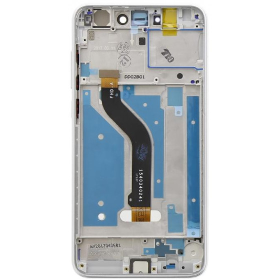 LCD + Touch Originale +Frame Huawei P8 & P9 Lite 2017 Bianco