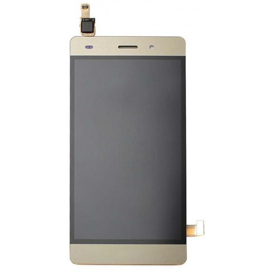 LCD + Touch Originale con Frame per Huawei P8 Lite Gold